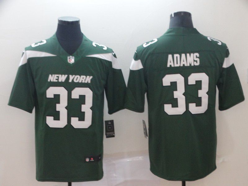 Men New York Jets 33 Adams Green Nike Vapor Untouchable Limited Player NFL Jerseys