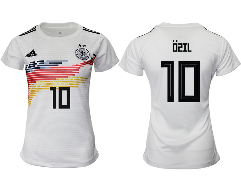 Women 2019-2020 Season National Team Germany home aaa version 10 white Soccer Jerseys