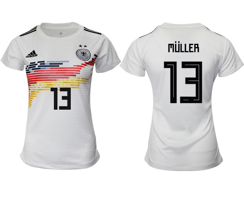 Women 2019-2020 Season National Team Germany home aaa version 13 white Soccer Jerseys