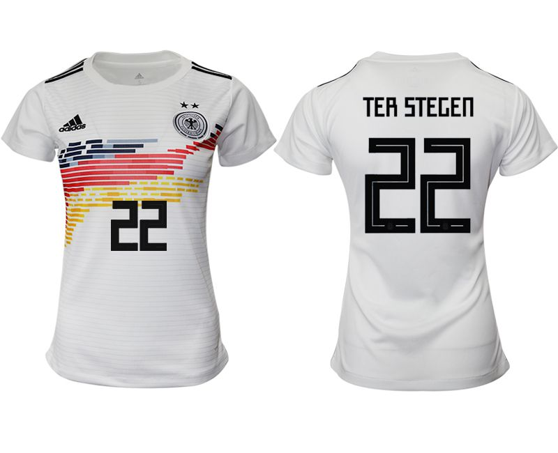 Women 2019-2020 Season National Team Germany home aaa version 22 white Soccer Jerseys