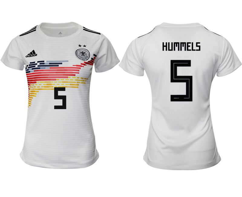 Women 2019-2020 Season National Team Germany home aaa version 5 white Soccer Jerseys