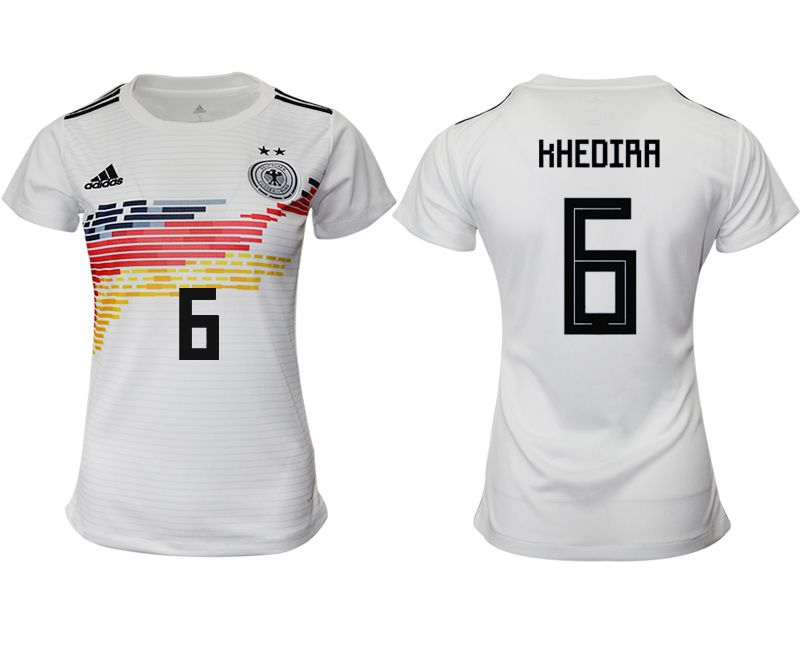 Women 2019-2020 Season National Team Germany home aaa version 6 white Soccer Jerseys