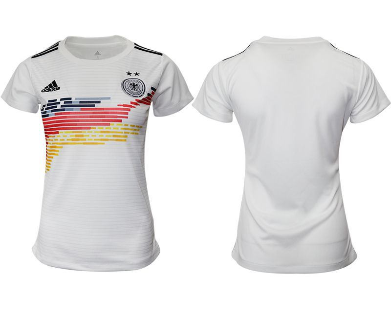 Women 2019-2020 Season National Team Germany home aaa version white Soccer Jerseys