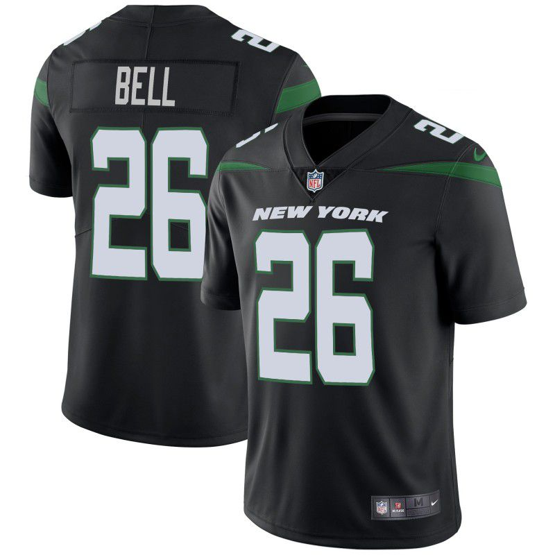 Youth New York Jets 26 Bell Black Nike Vapor Untouchable Limited Player NFL Jerseys