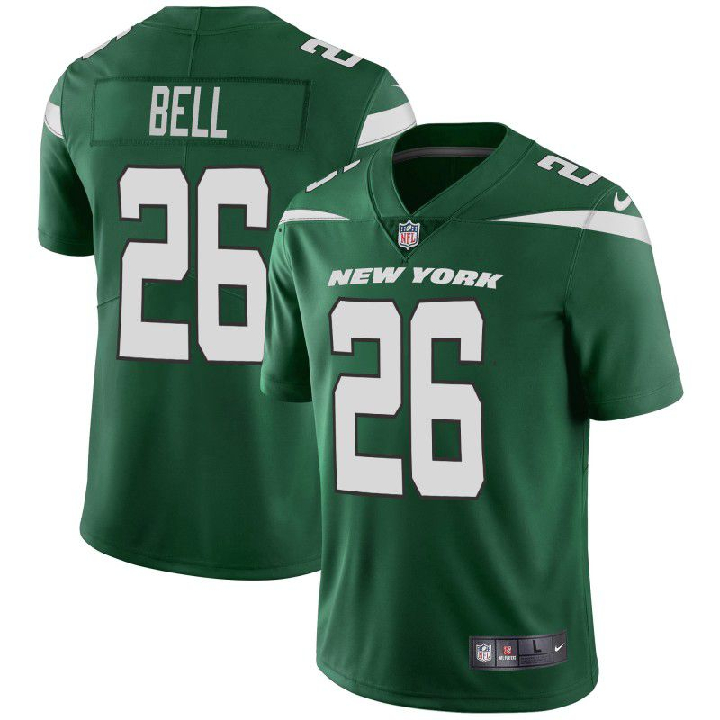 Youth New York Jets 26 Bell Green Nike Vapor Untouchable Limited Player NFL Jerseys