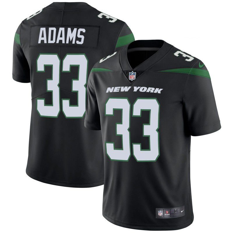 Youth New York Jets 33 Adams Black Nike Vapor Untouchable Limited Player NFL Jerseys