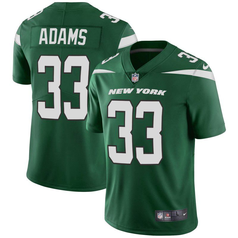 Youth New York Jets 33 Adams Green Nike Vapor Untouchable Limited Player NFL Jerseys