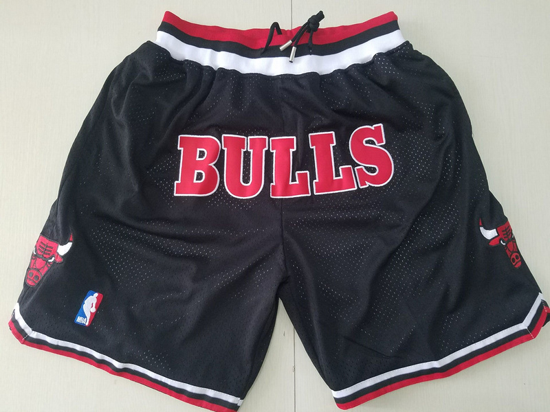 Men 2019 NBA Nike Chicago Bulls black shorts