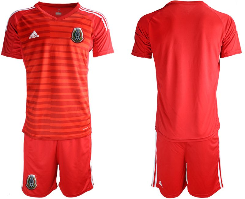 Men 2019-2020 Season National Team Mexico red goalkeeper Soccer Jerseys
