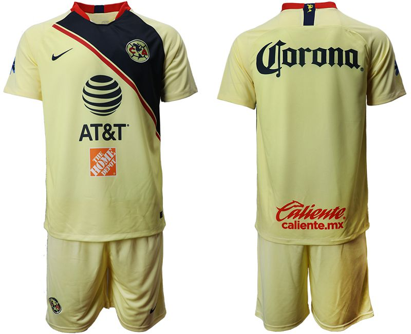 Men 2019-2020 club Club America home green Soccer Jerseys