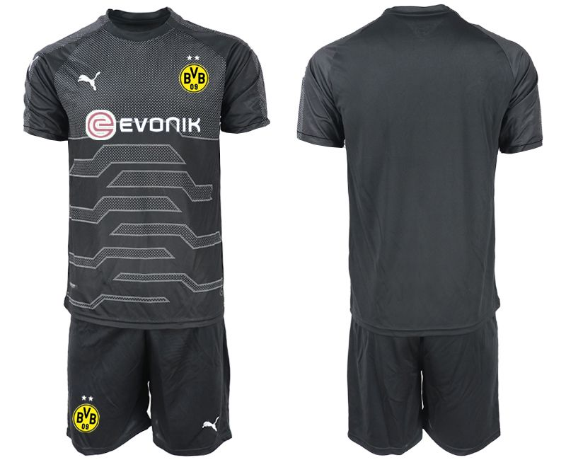 Men 2019-2020 club Dortmund black goalkeeper Soccer Jerseys