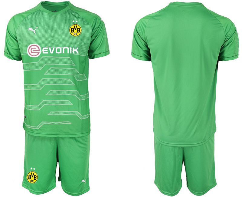 Men 2019-2020 club Dortmund green goalkeeper Soccer Jerseys