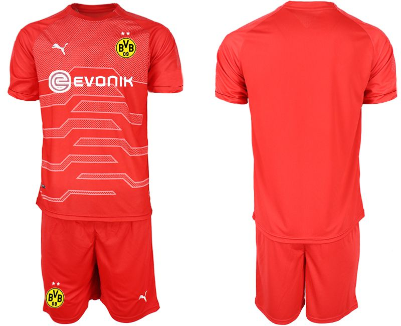 Men 2019-2020 club Dortmund red goalkeeper Soccer Jerseys