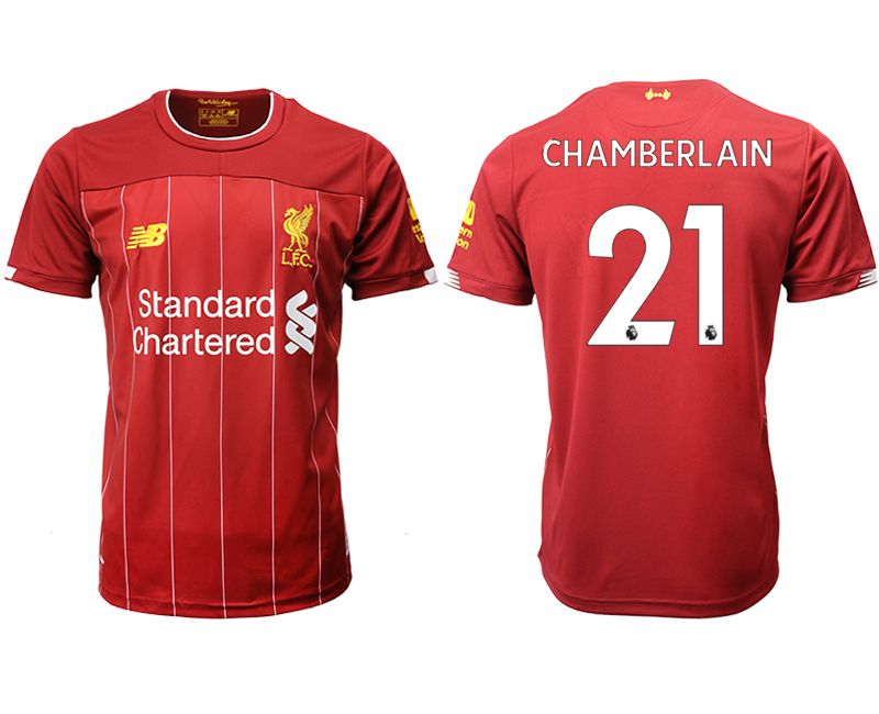 Men 2019-2020 club Liverpool home aaa version 21 red Soccer Jerseys