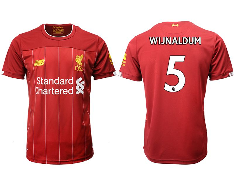Men 2019-2020 club Liverpool home aaa version 5 red Soccer Jerseys