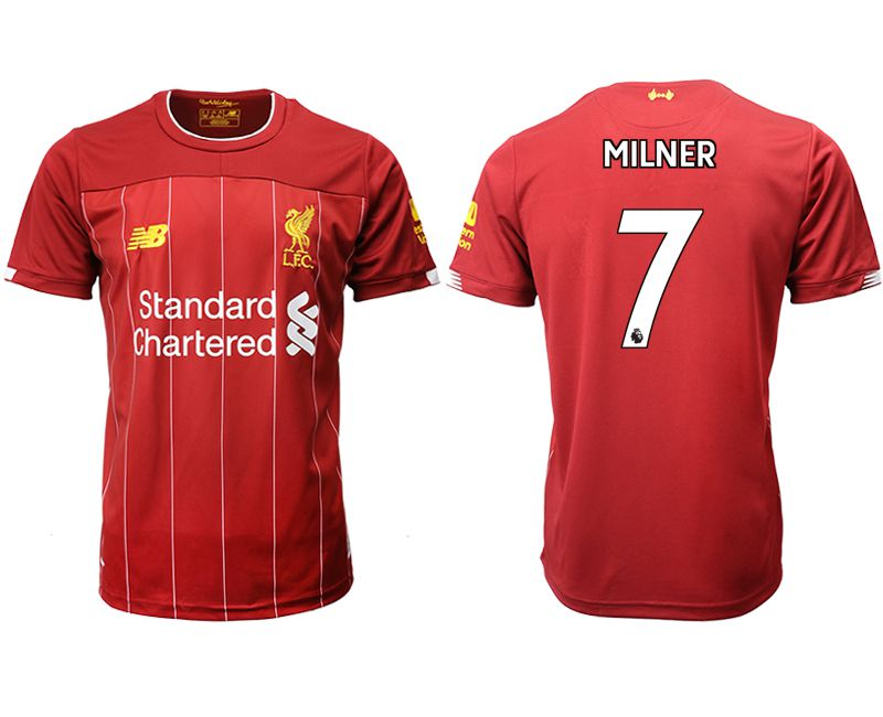 Men 2019-2020 club Liverpool home aaa version 7 red Soccer Jerseys