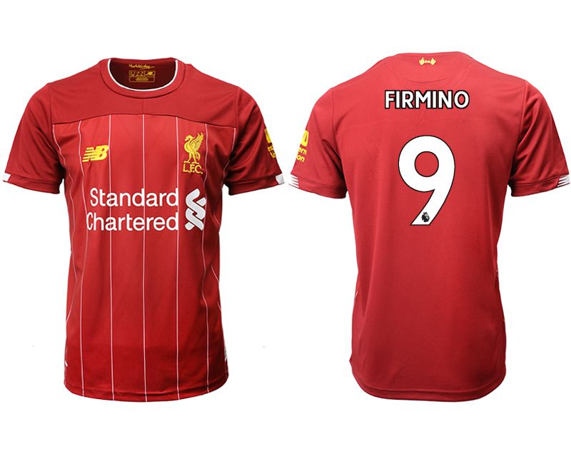 Men 2019-2020 club Liverpool home aaa version 9 red Soccer Jerseys
