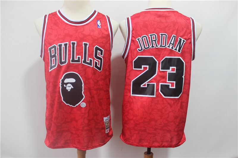 Men Chicago Bulls 23 Jordan Red Stitched NBA Jersey