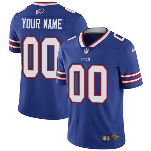 Nike Buffalo Bills Royal Men Customized Vapor Untouchable Player Limited Jersey