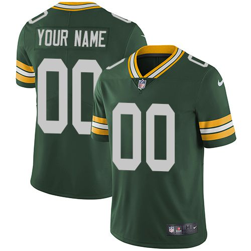 7878733967e Nike Green Bay Packers Green Men Customized Vapor Untouchable Player Limited  Jersey
