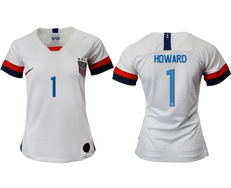Women 2019-2020 Season National Team America home aaa 1 white Soccer Jerseys