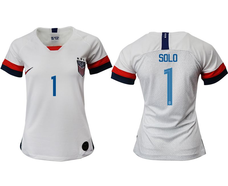 Women 2019-2020 Season National Team America home aaa 1 white Soccer Jerseys1
