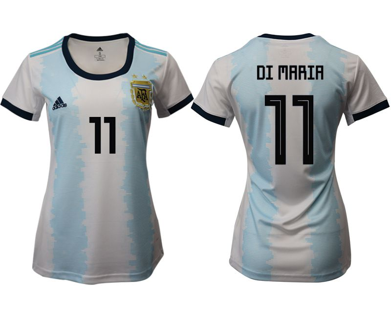 Women 2019-2020 Season National Team Argentina home aaa version 11 blue Soccer Jerseys