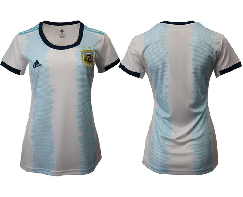 Women 2019-2020 Season National Team Argentina home aaa version blue Soccer Jerseys