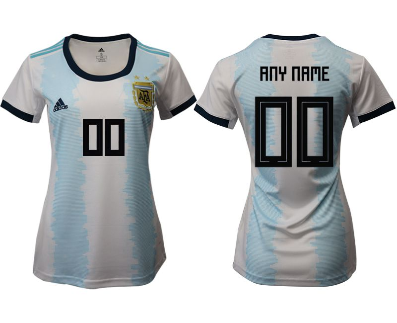 Women 2019-2020 Season National Team Argentina home aaa version customized blue Soccer Jerseys