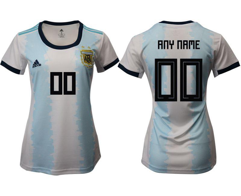 4b1d94da9 Women 2019-2020 Season National Team Argentina home aaa version customized  blue Soccer Jerseys