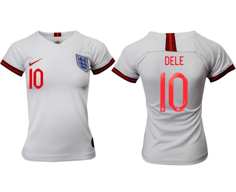 Women 2019-2020 Season National Team England home aaa version 10 white Soccer Jerseys1