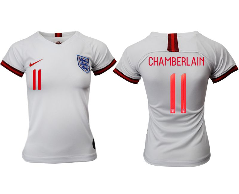 Women 2019-2020 Season National Team England home aaa version 11 white Soccer Jerseys