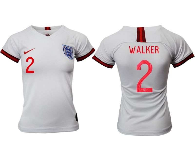 Women 2019-2020 Season National Team England home aaa version 2 white Soccer Jerseys