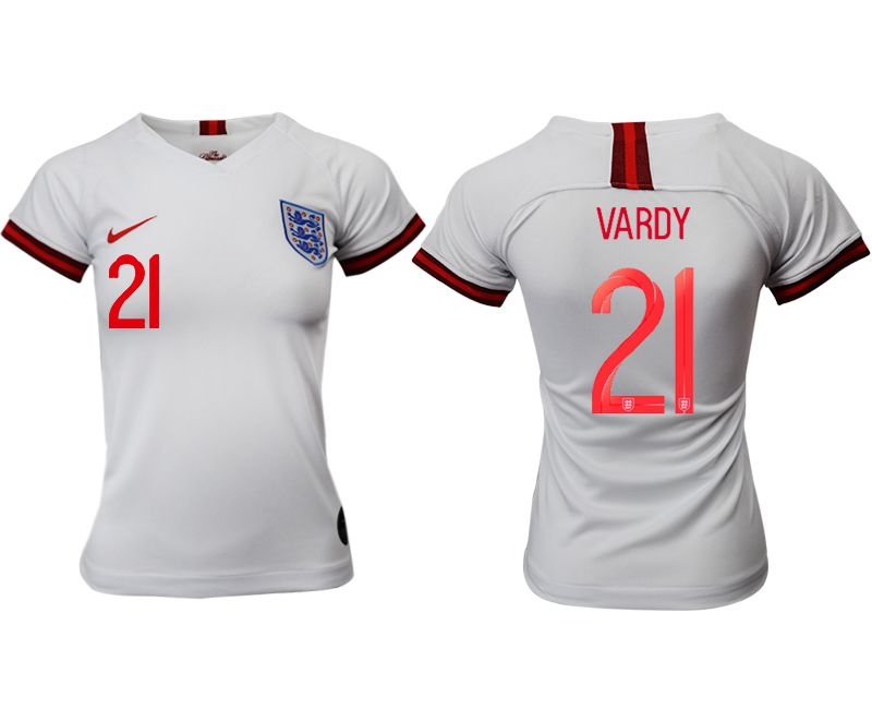 Women 2019-2020 Season National Team England home aaa version 21 white Soccer Jerseys