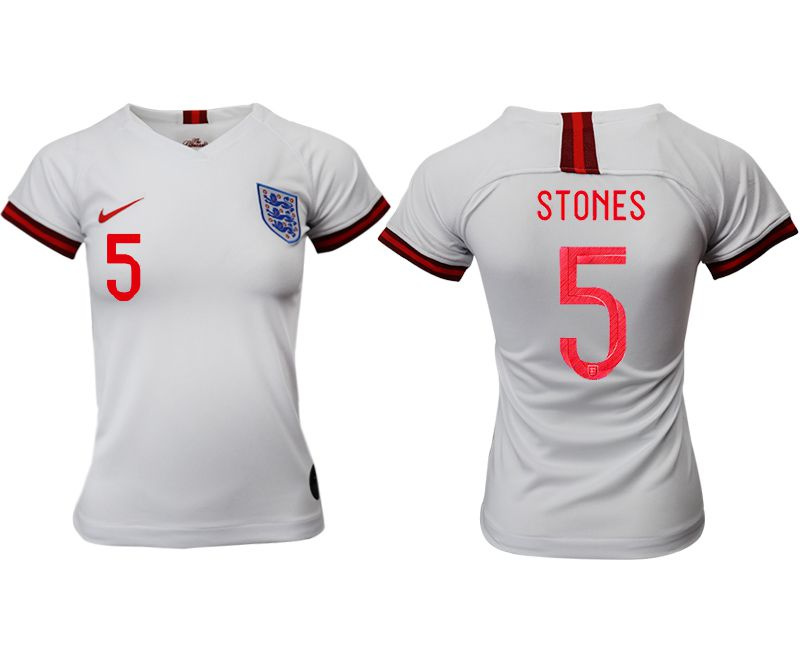 Women 2019-2020 Season National Team England home aaa version 5 white Soccer Jerseys