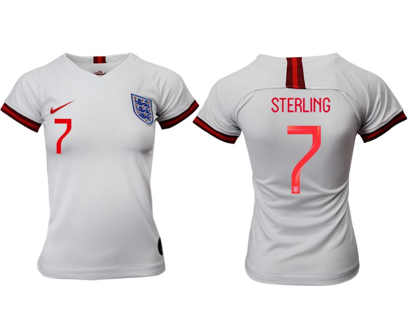 Women 2019-2020 Season National Team England home aaa version 7 white Soccer Jerseys1