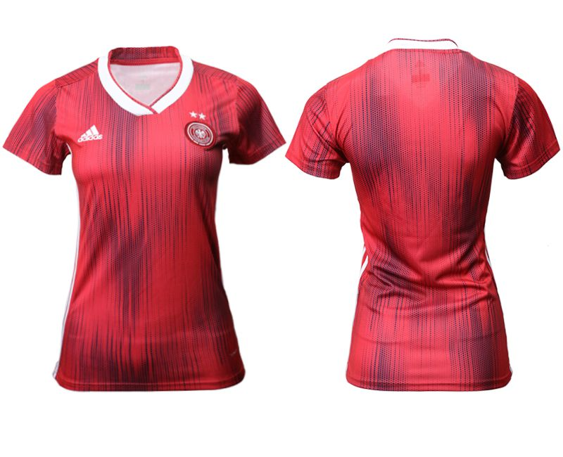 Women 2019-2020 Season National Team Germany away aaa version red Soccer Jerseys