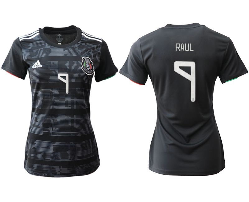 Women 2019-2020 Season National Team Mexico home aaa version 9 black Soccer Jerseys