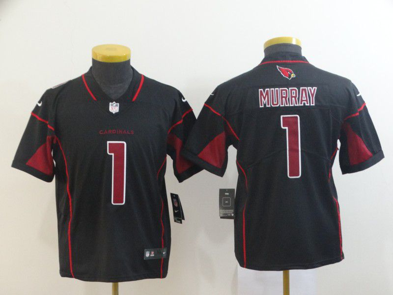 Youth Arizona Cardinals 1 Murray Black Nike Vapor Untouchable Limited NFL Jerseys