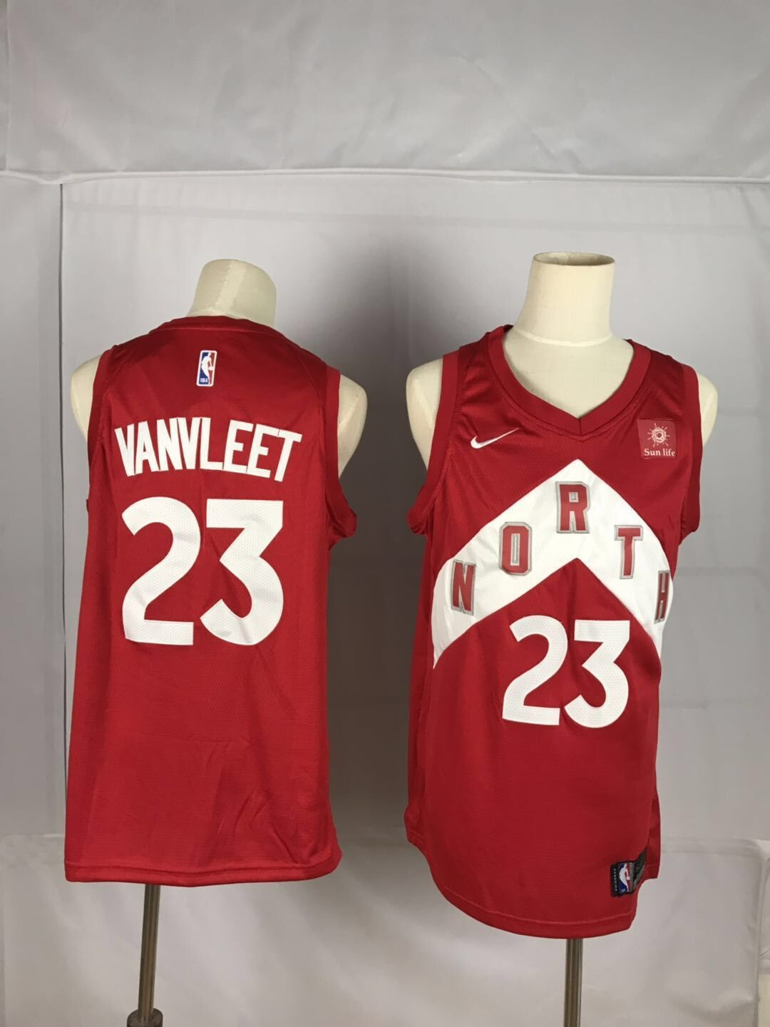 2019 Men Toronto Raptors 23 Vanvleet red NBA Nike Jerseys