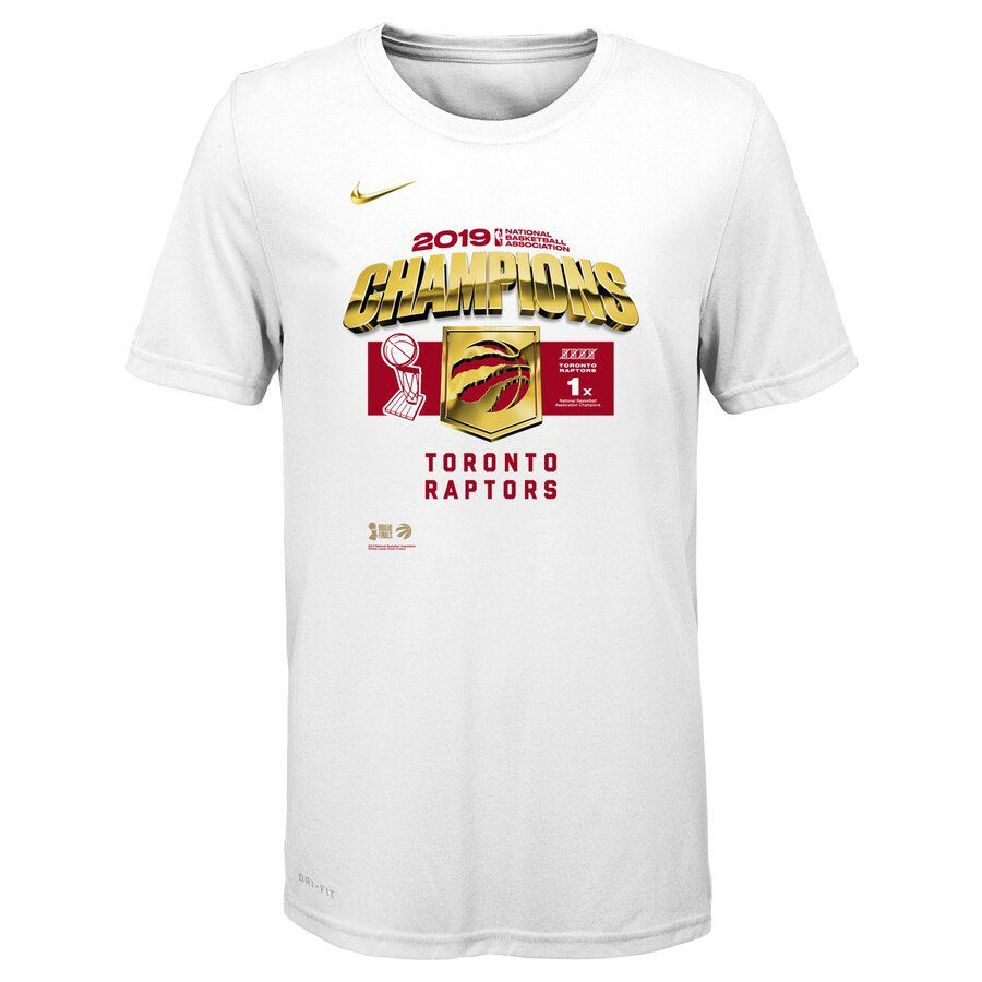 2019 Men Toronto Raptors white NBA Nike T shirt 3