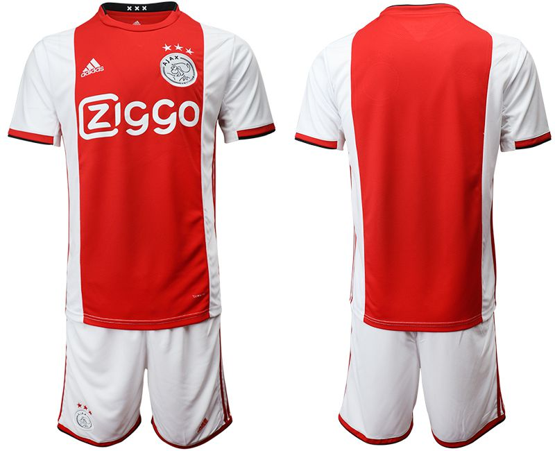 Men 2019-2020 club AFC Ajax home red Soccer Jerseys
