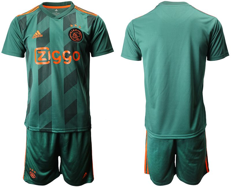 Men 2019-2020 club Ajax AFC away green Soccer Jerseys