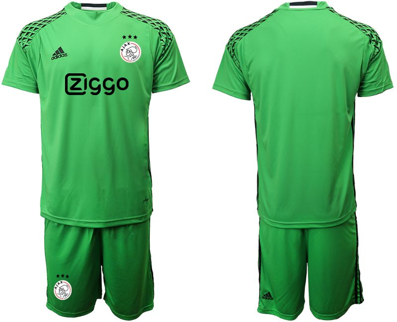 Men 2019-2020 club Ajax green goalkeeper Soccer Jerseys