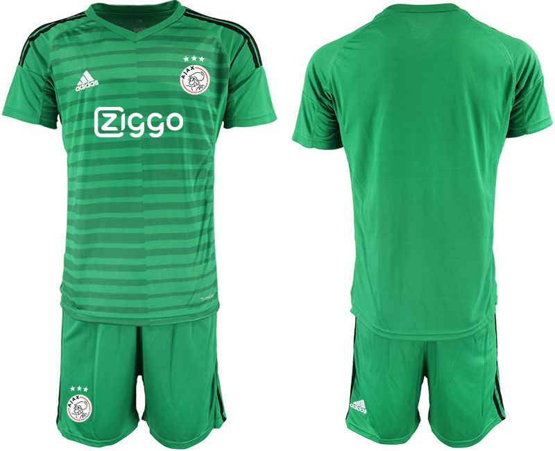 Men 2019-2020 club Ajax green goalkeeper Soccer Jerseys1
