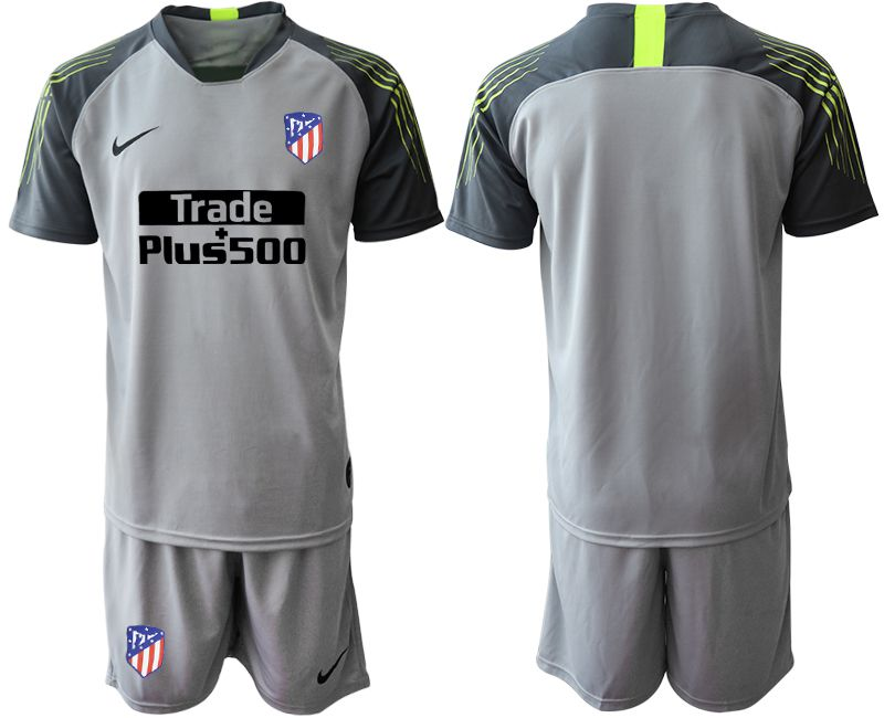 Men 2019-2020 club Atletico Madrid gray goalkeeper Soccer Jerseys