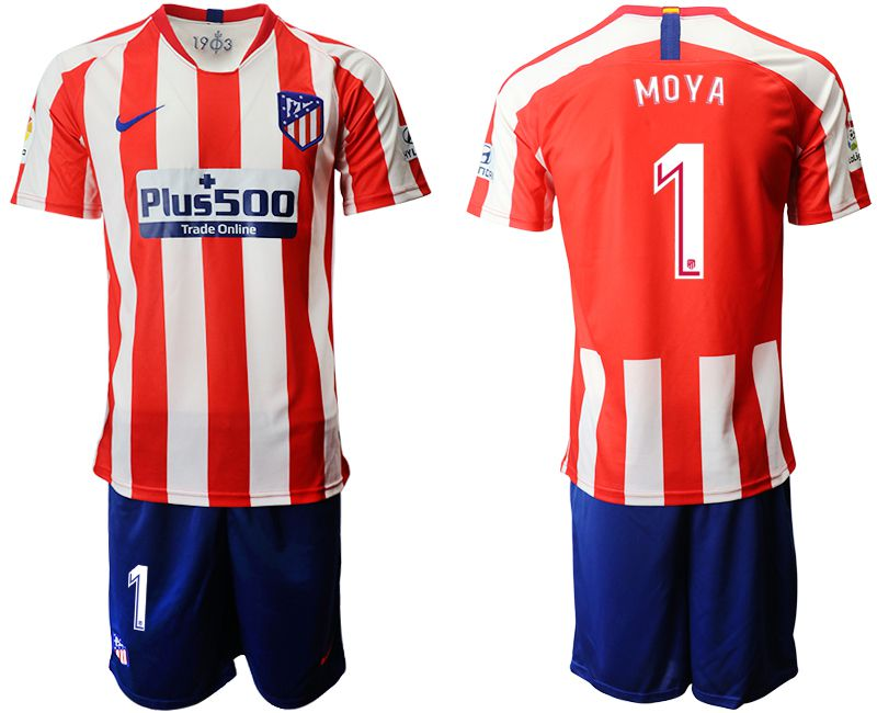 Men 2019-2020 club Atletico Madrid home 1 red red Soccer Jerseys