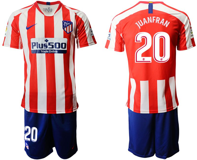 Men 2019-2020 club Atletico Madrid home 20 red Soccer Jerseys