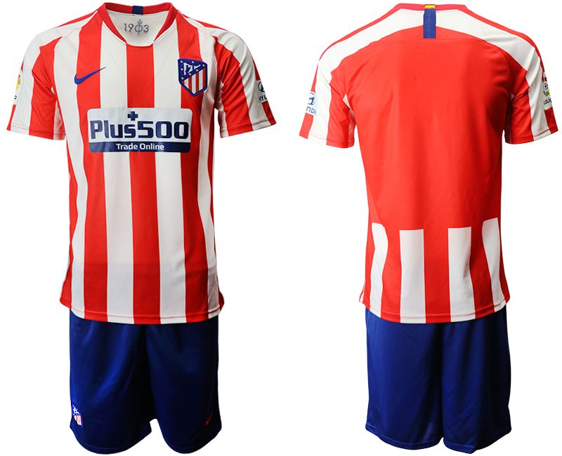 Men 2019-2020 club Atletico Madrid home red Soccer Jerseys