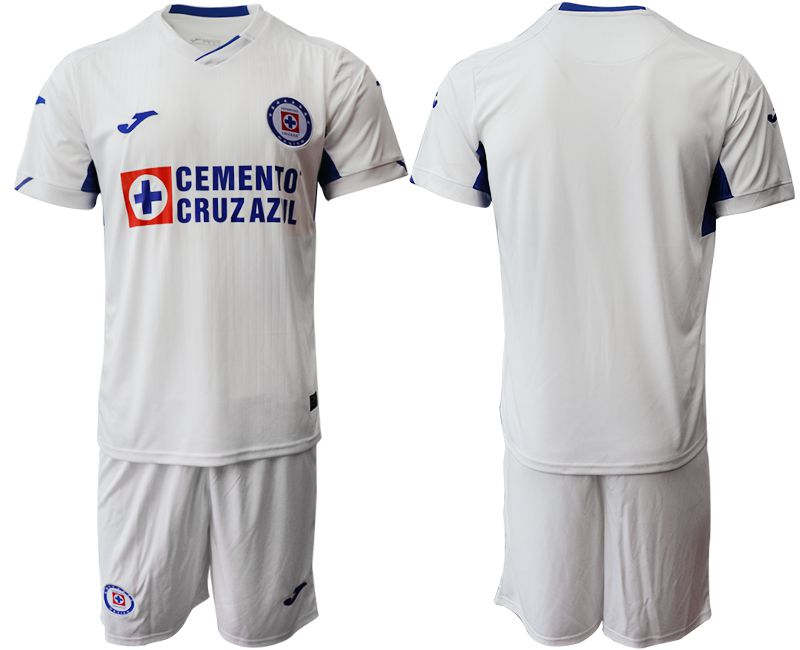Men 2019-2020 club CDSC Cruz Azul away white Soccer Jerseys